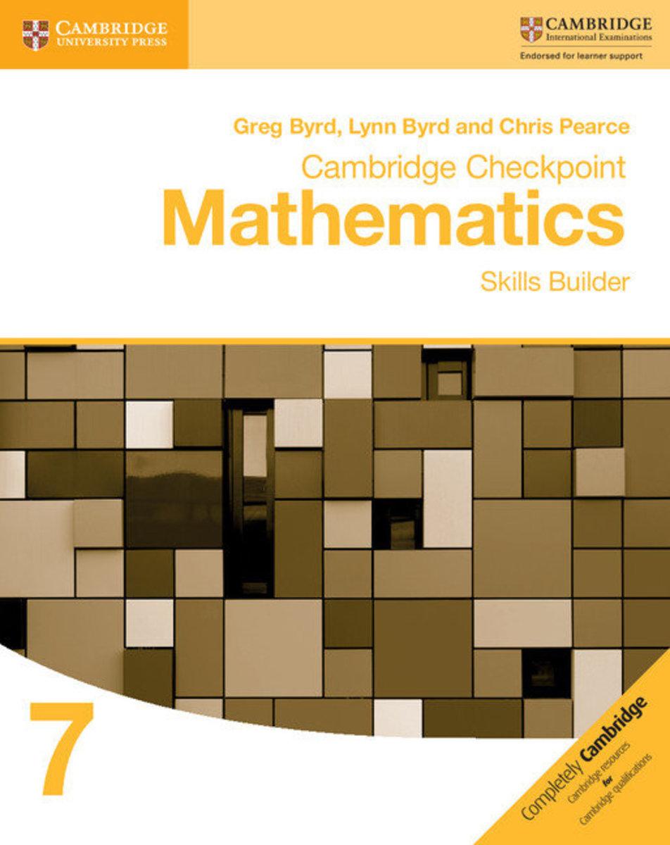 Cambridge Checkpoint Mathematics Skills Builder 7
