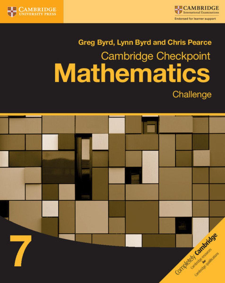 Cambridge Checkpoint Mathematics Challenge 7