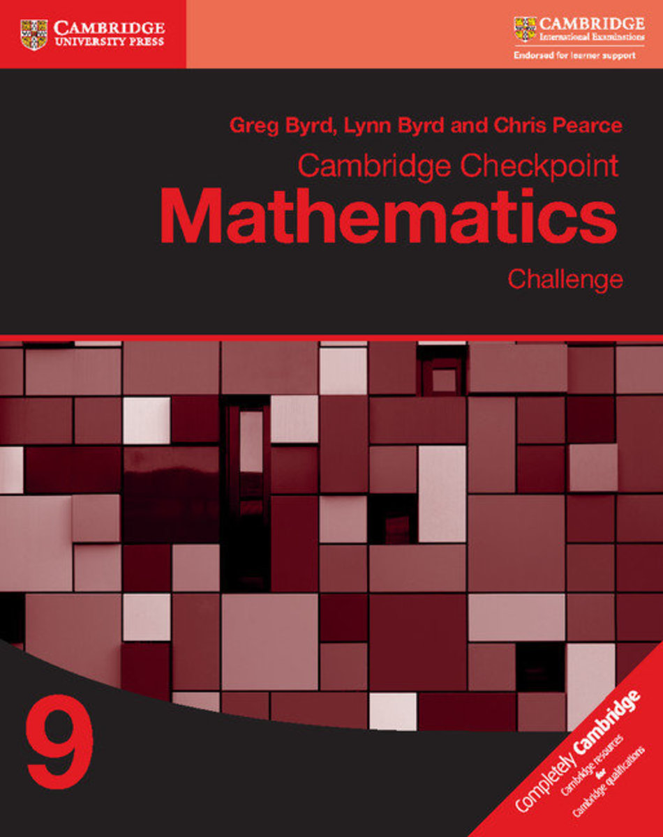 Cambridge Checkpoint Mathematics Challenge 9