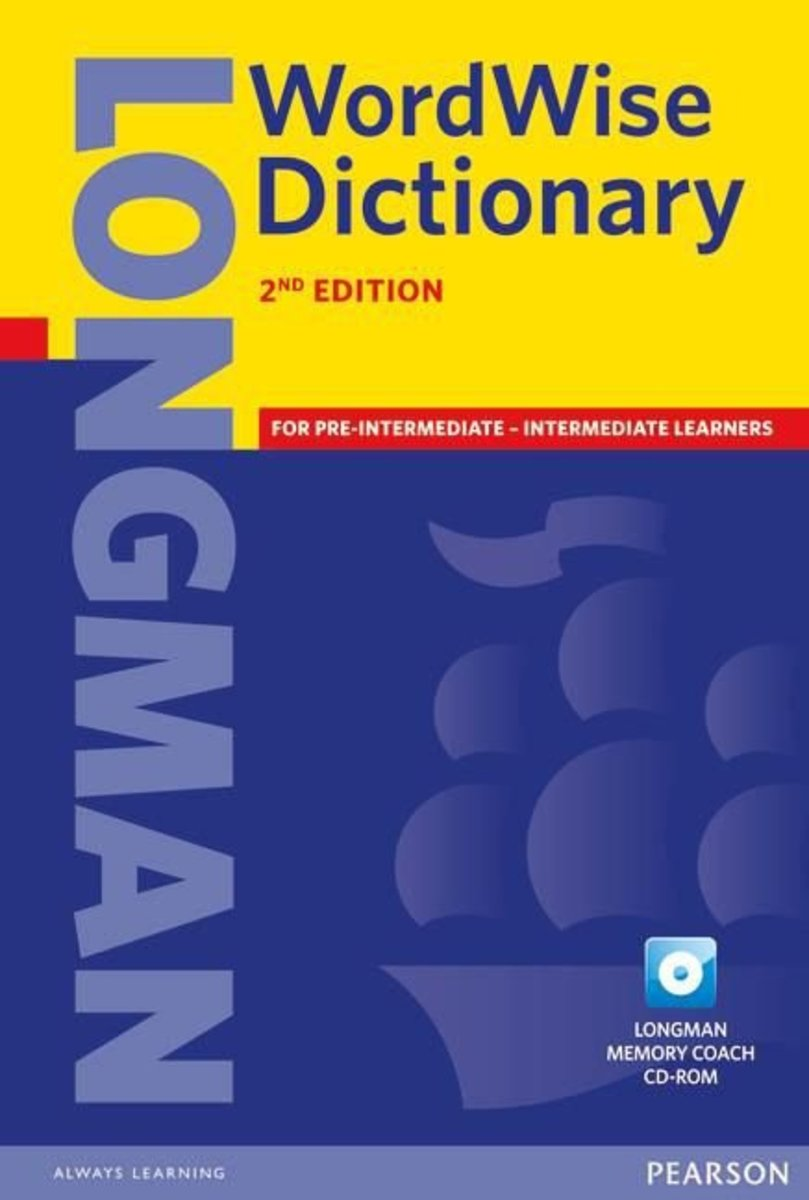 Wordwise Dictionary Paper & CD-rom pack 2Ed