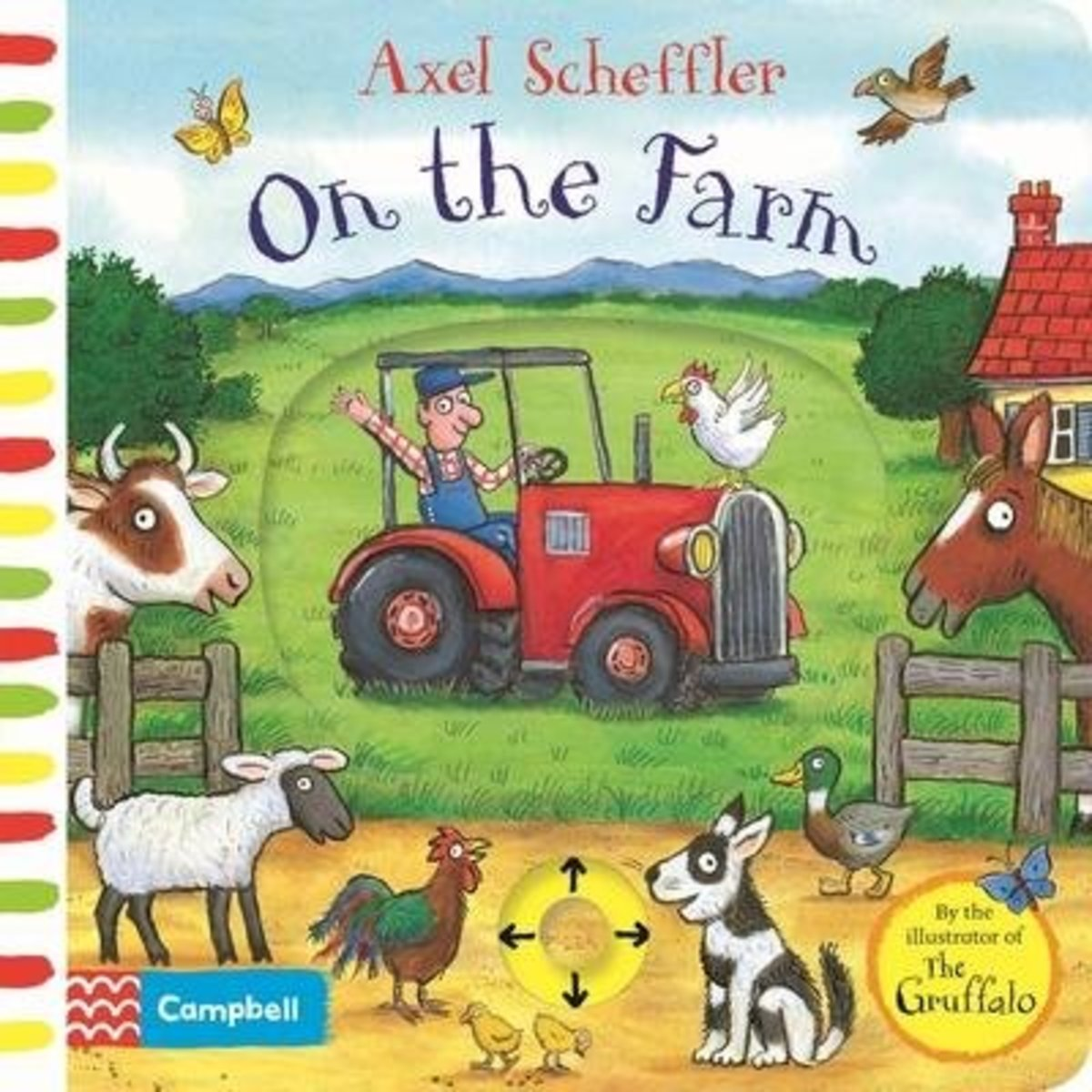 Axel Scheffler On the Farm: A push, pull, slide book