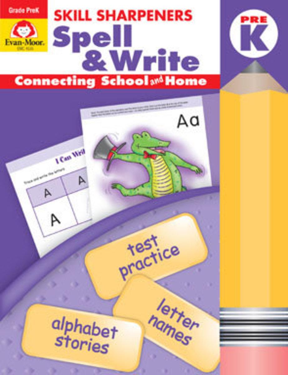 Skill Sharpeners Spell & Write, Grade PreK