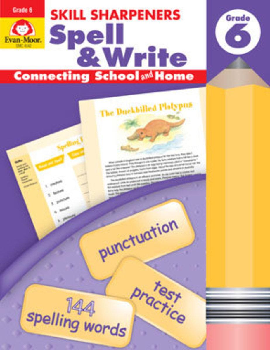 Skill Sharpeners Spell & Write, Grade 6+