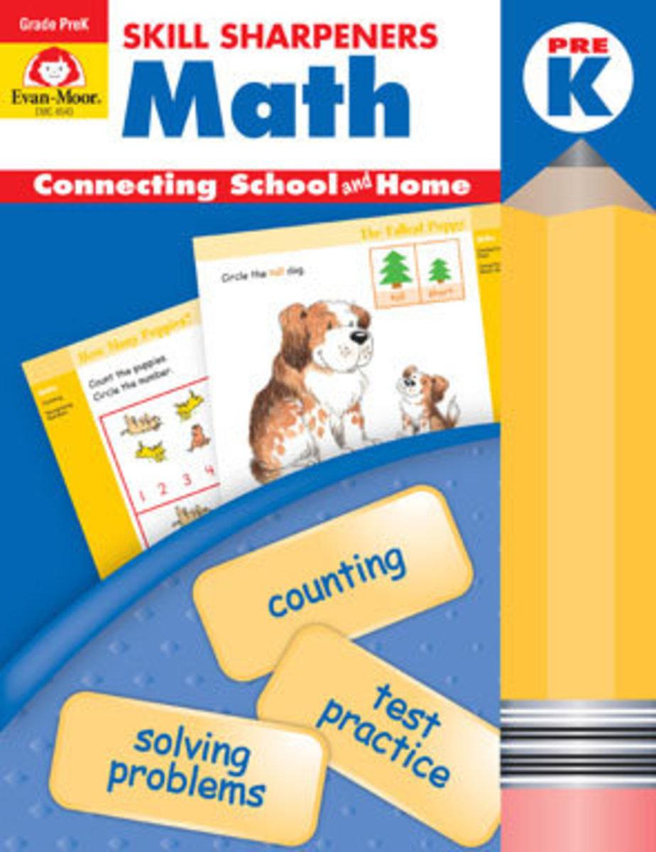 Skill Sharpeners Math, Grade PreK
