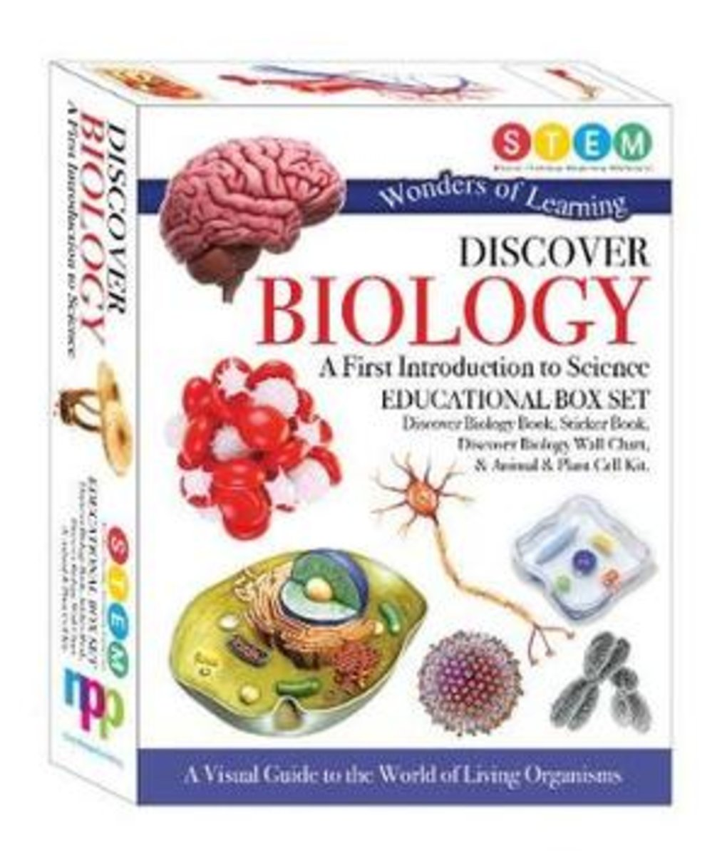 WOLD Biology Educational Box Set (A First Introduction to Science)
