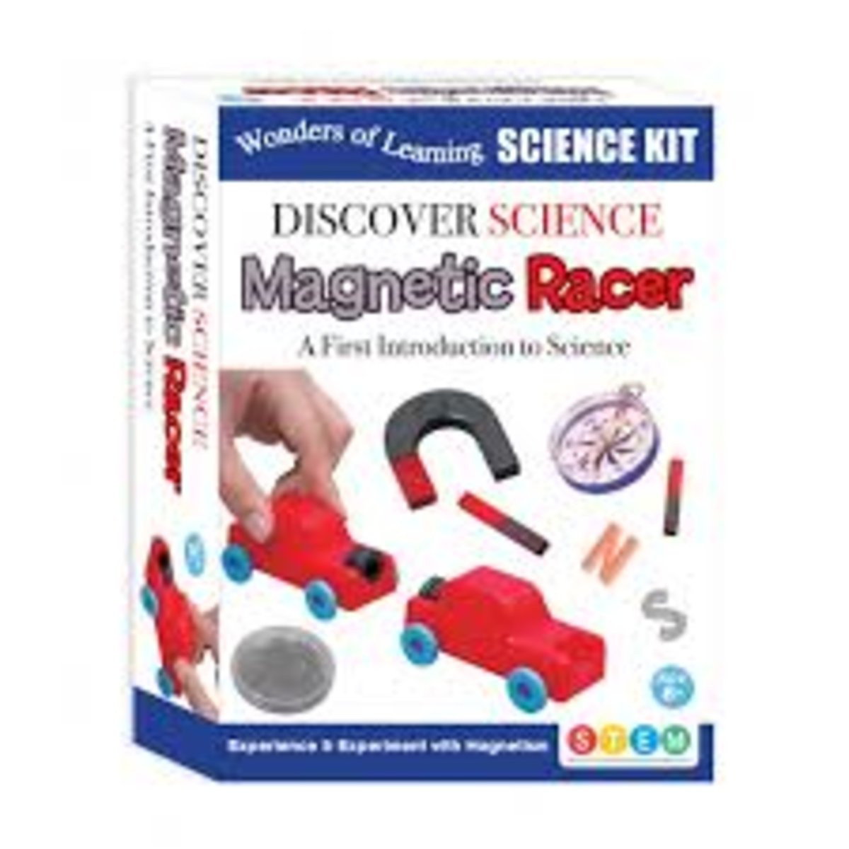 WOLD Science Kit Magnetic Racer