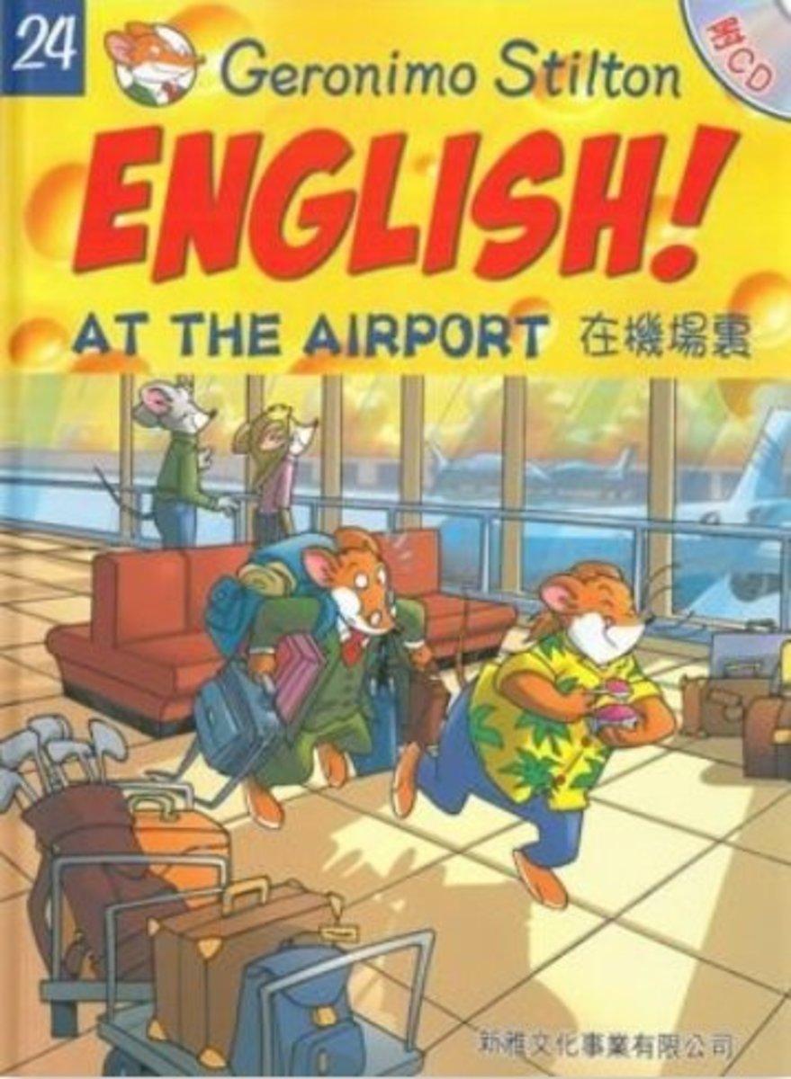 在機場裏[老鼠記者英語學習#24](附CD)