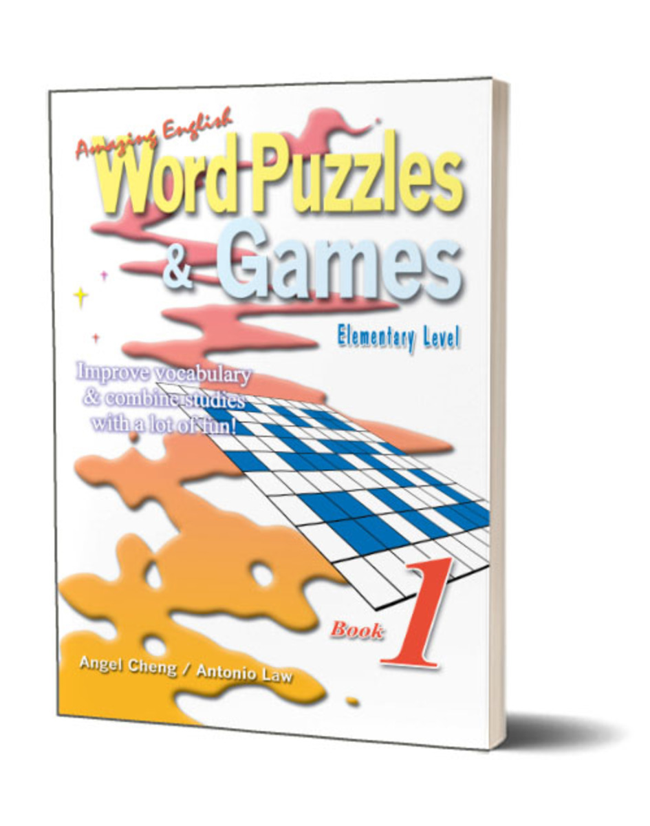 Amazing English Word Puzzles & Games Book 1