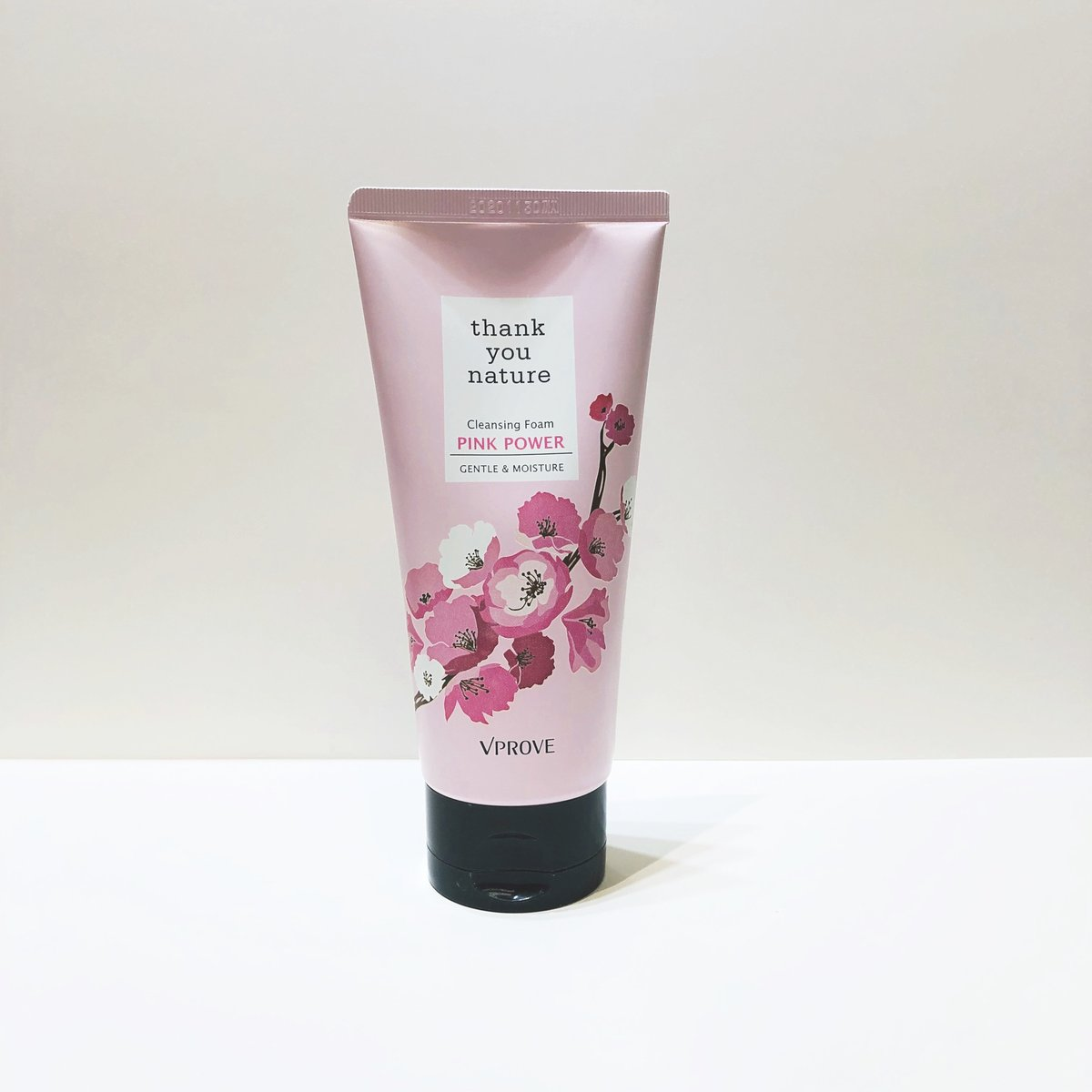 Thank You Nature Pink Power Cleansing Foam (Special Edition) 【Parallel Import】