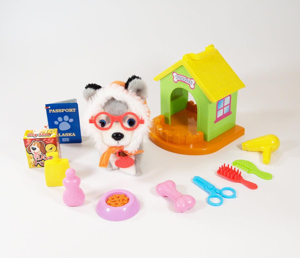 Travelling Furry Buddy - Husky