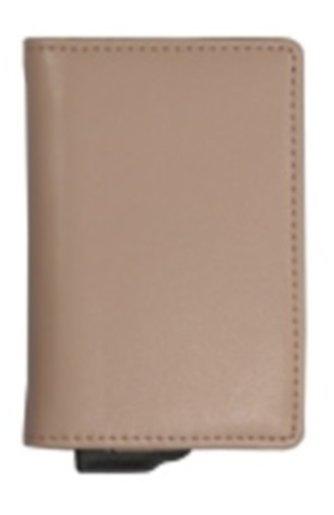 RFID 纖巧防盜卡錢包 Spring-4016 粉紅色