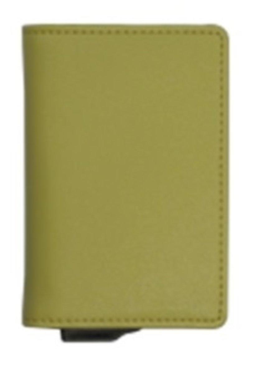RFID Wallet Mini Spring-4016 Lemon Yellow