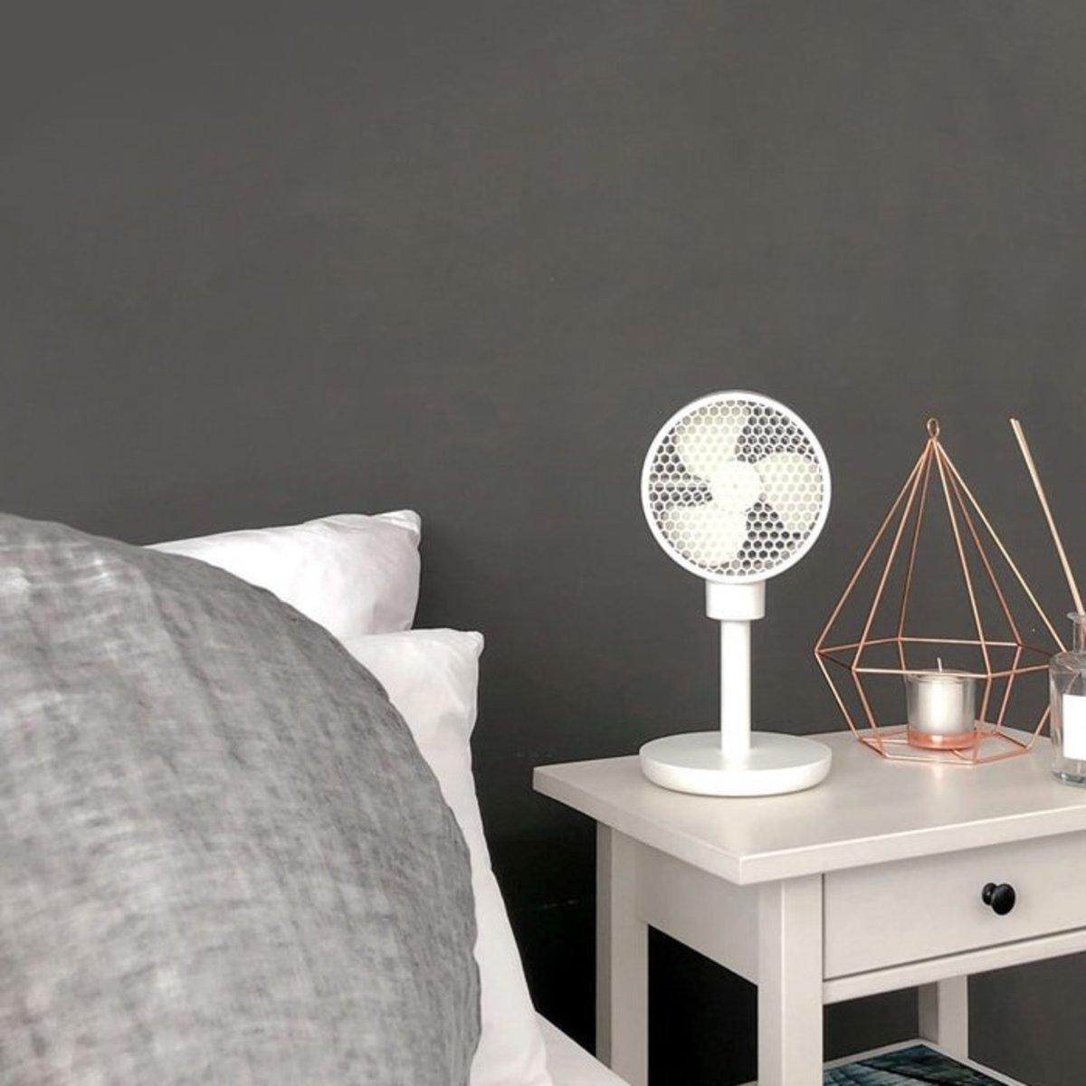 Honeycomb Wireless Fan CL-005L White
