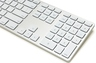 RGB Backlit Aluminum Wired Keyboard with Num Pad (Mac & Win)