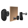 SHC1000W Front Door Local and Remote Security Camera with Camouflaged Motion Detector