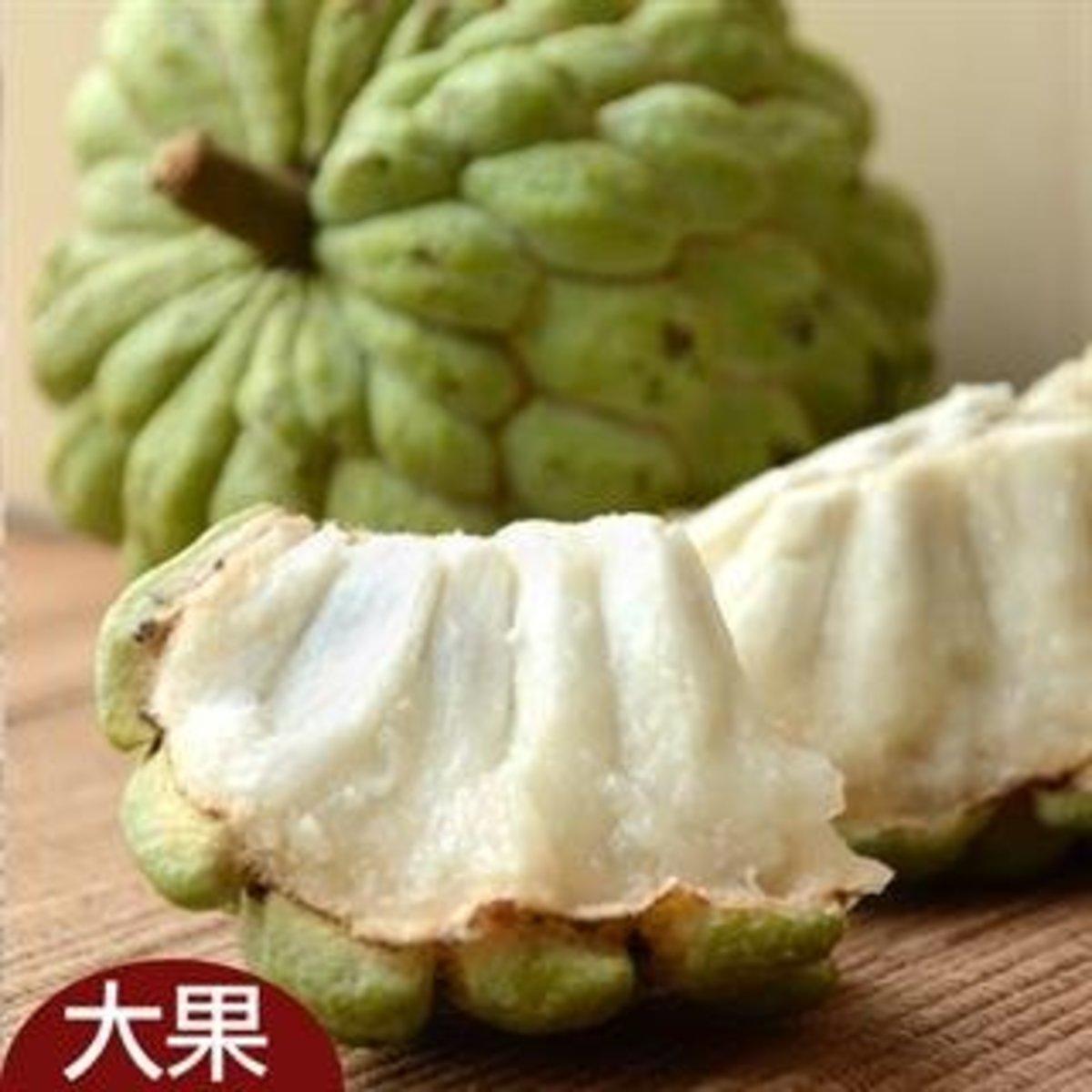 台東大目釋迦(大果)[4-5粒/3KG/箱]
