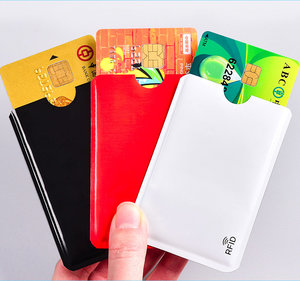 RFID Blocking Sleeves Card Holders 15pcs (Any Colors)