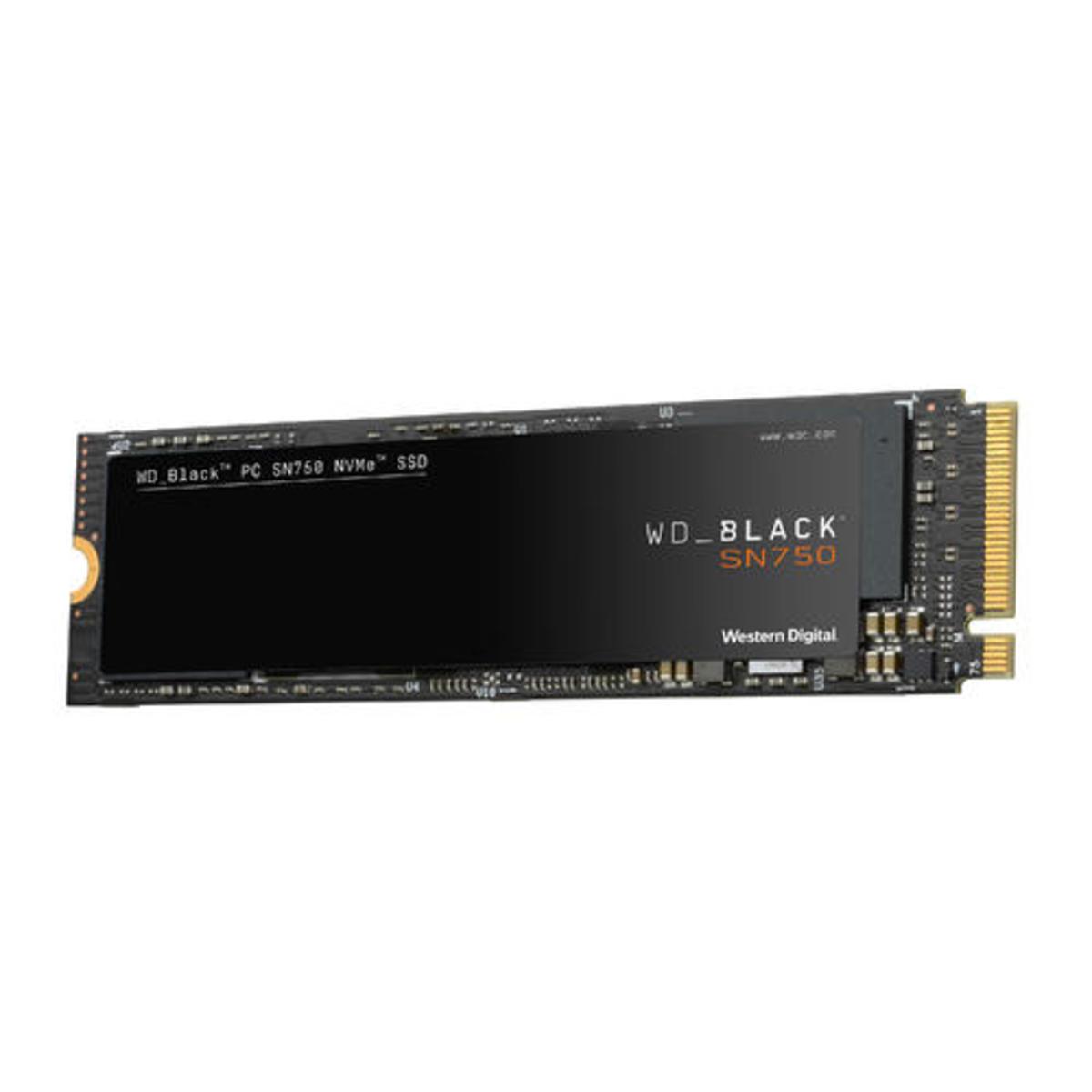 WD 1TB BLACK SN750 NVME SSD 內置固體硬碟 (WDS100T3X0C)