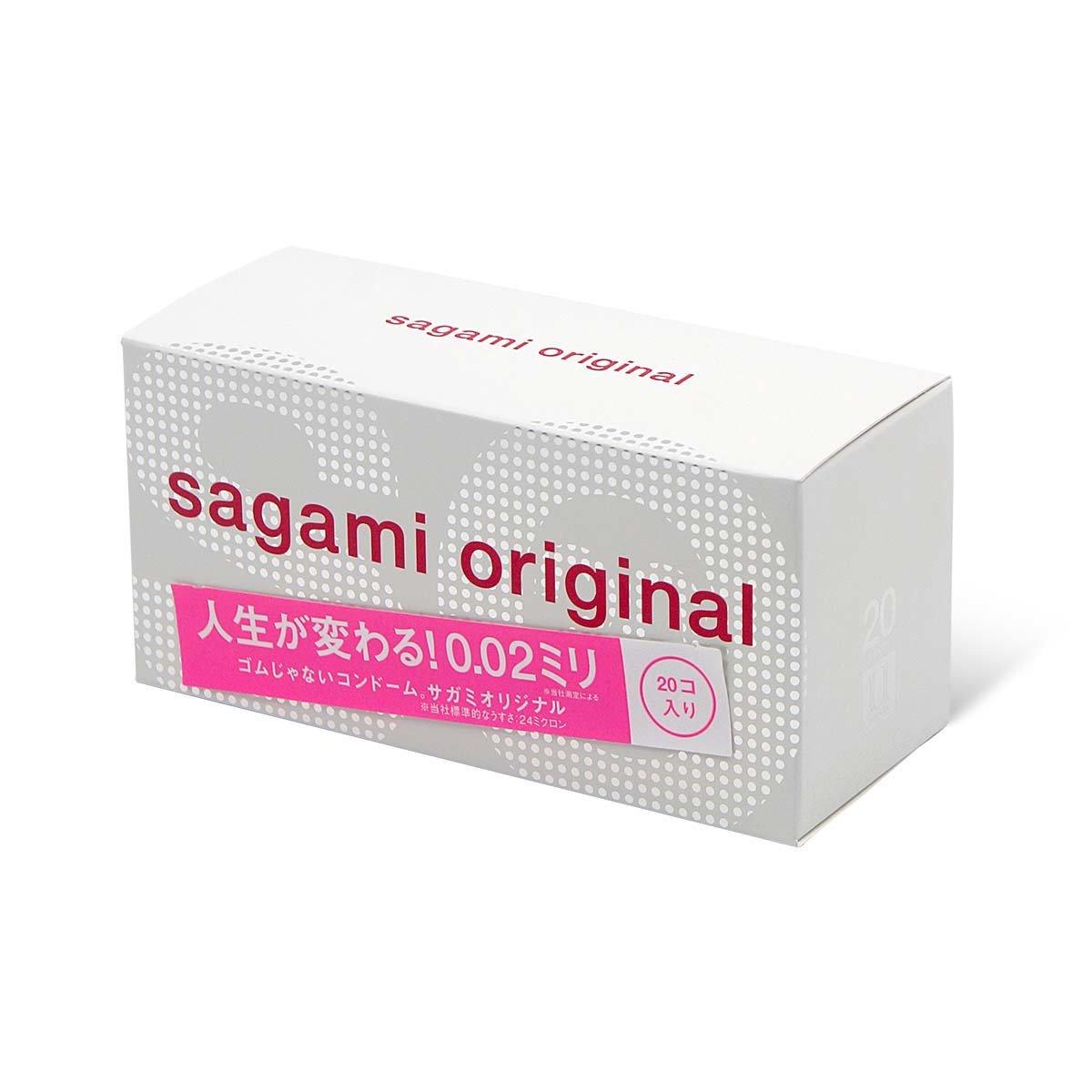 【20片裝】SAGAMI ORIGINAL 相模原創 0.02 (第二代) 安全套