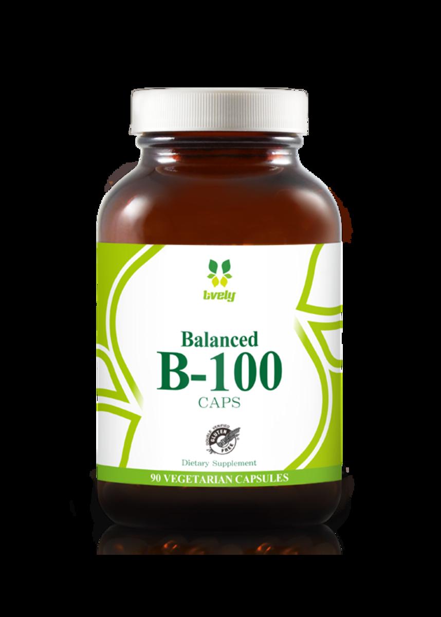 Balanced B-100 (90 veg Capsules)