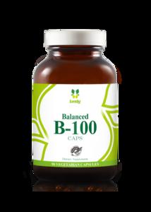 Lively 維他命 B-100 (90粒素食膠囊) 300g