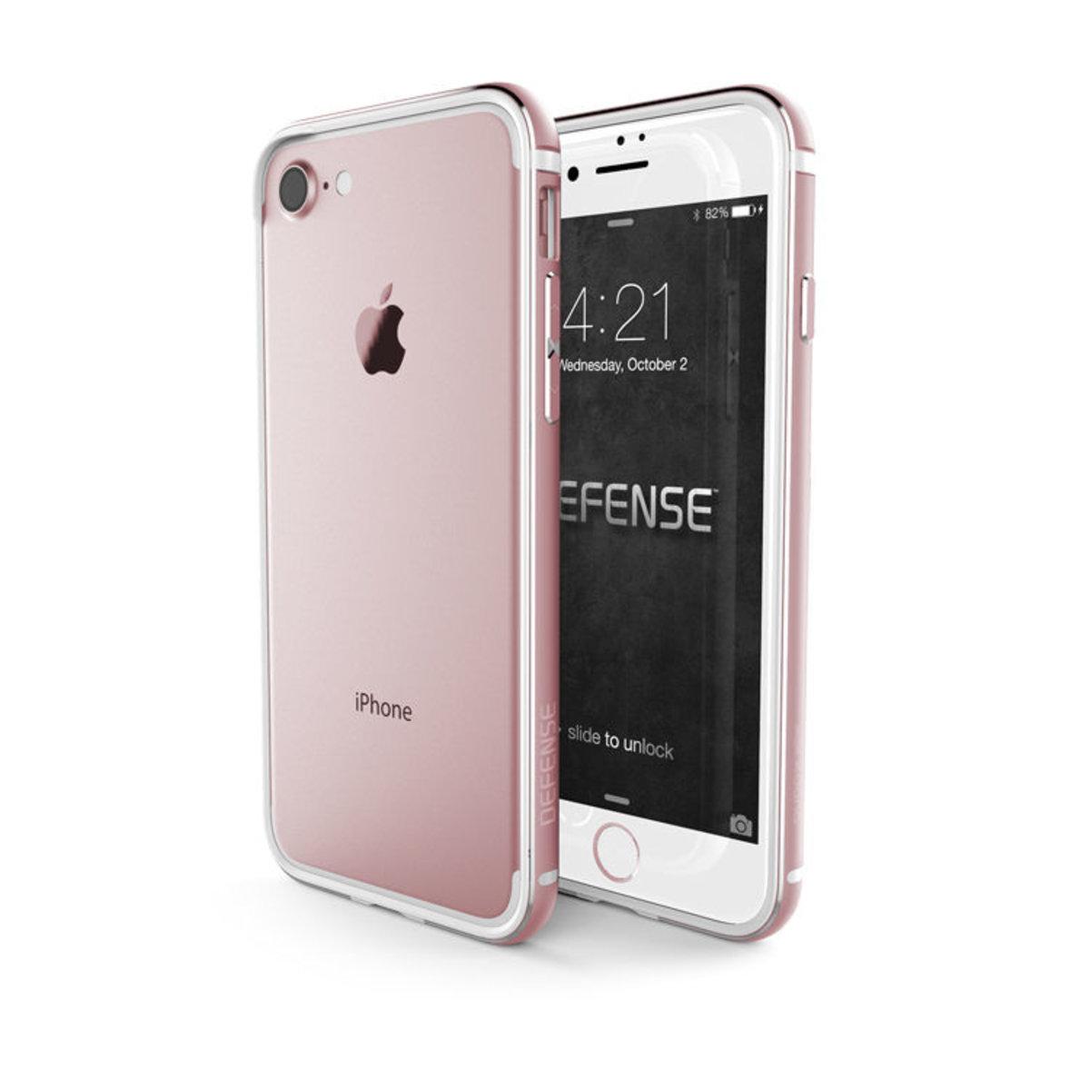 X-DORIA Defense Edge for iPhone 7 Plus - 玫瑰金