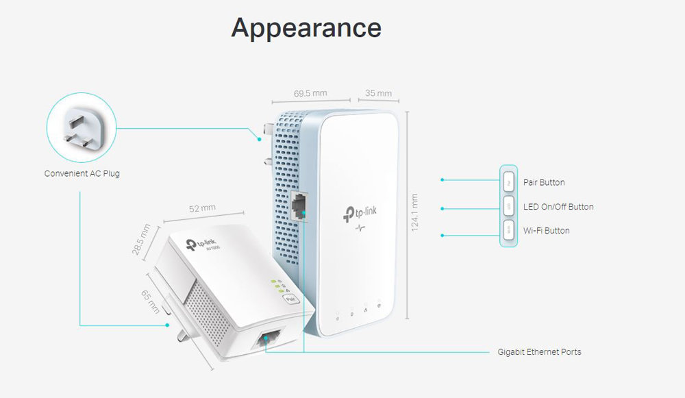 TP-LINK | WPA7517-KIT - AC750 WiFi AV1000 Gigabit HomePlug Extender Kit |  HKTVmall Online Shopping