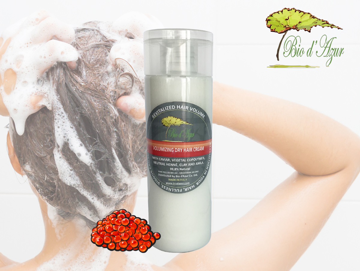 9.8% Natural Caviar Volumizing Cream (suitable for dry hair) 240ML