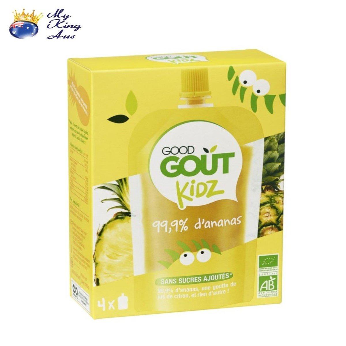 Organic Pineapple Puree 4x90g