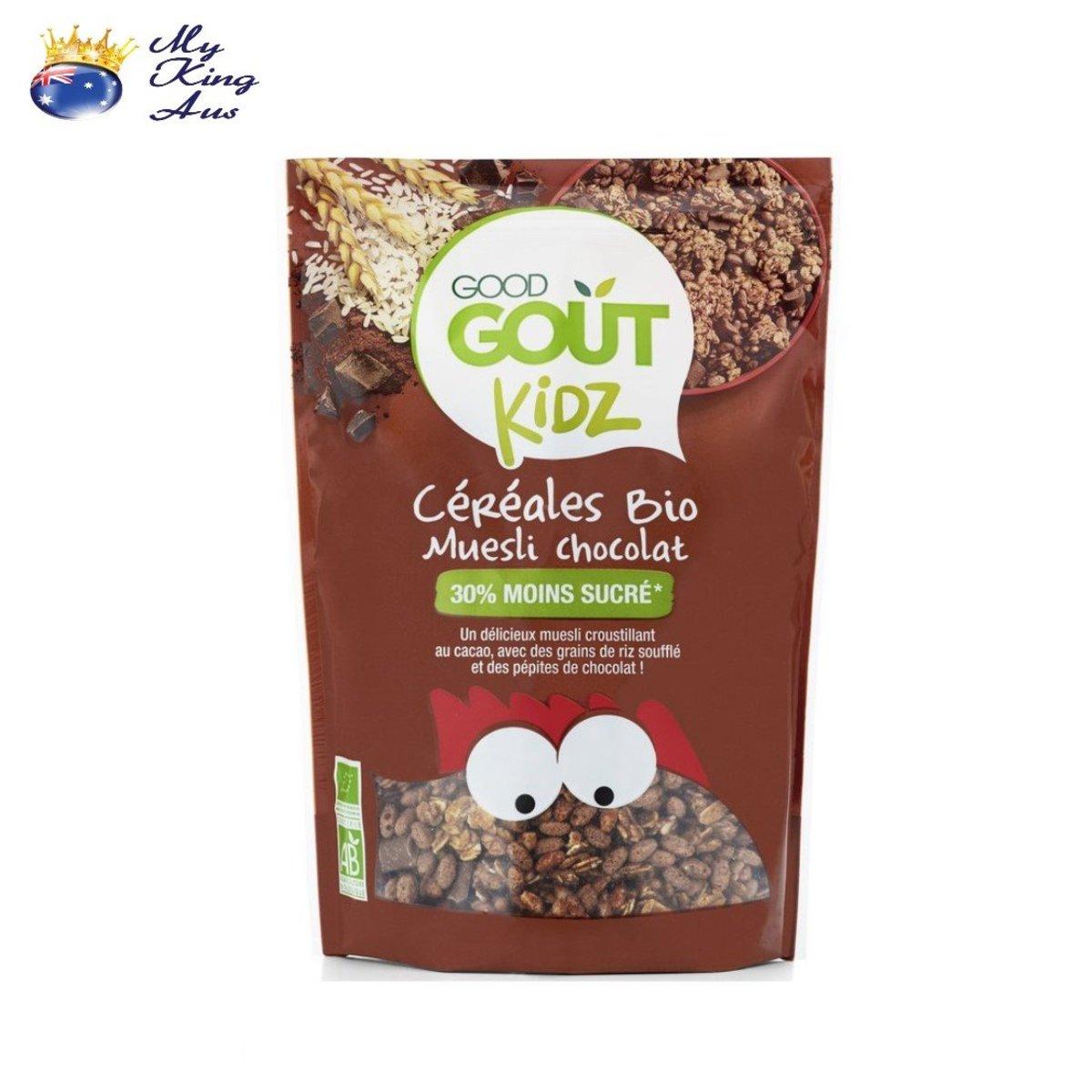 Organic Cereal Chocolate Muesli 300g