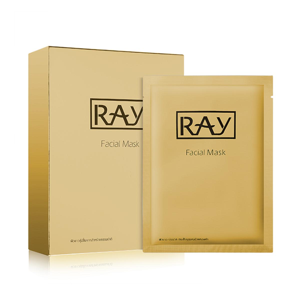 妝蕾泰國蠶絲面膜金色(1盒10片)