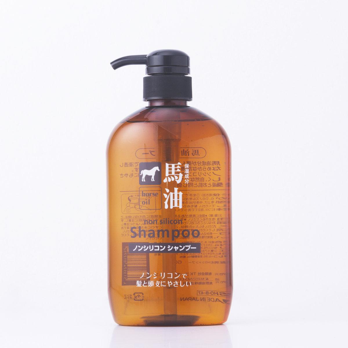 Horse Oil Non-Silicon Shampoo 600ml