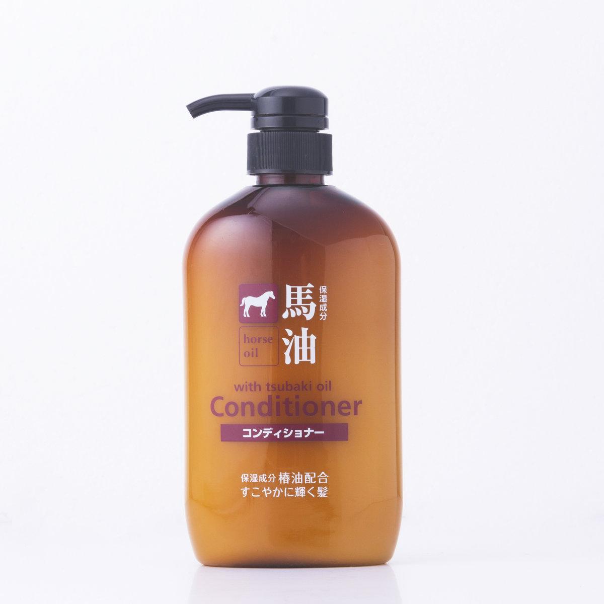馬油保濕潤髮乳600ml(椿油)