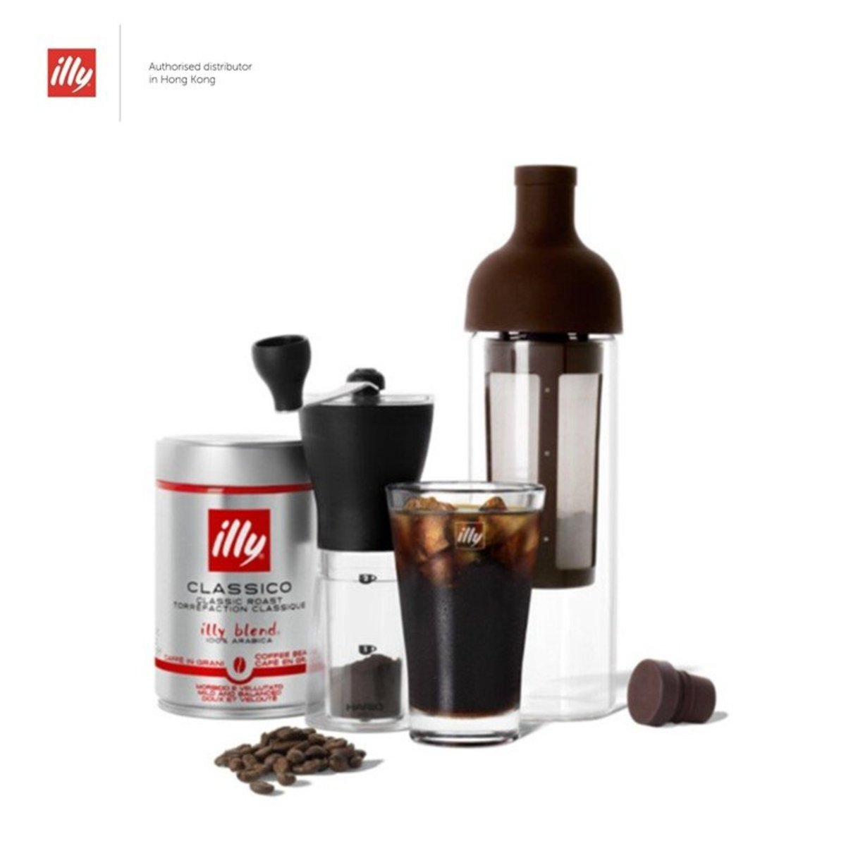 illy & Hario 冷萃咖啡家用套裝