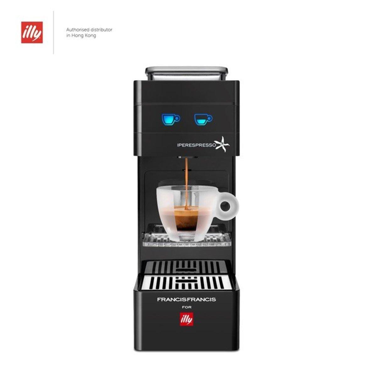Y3A Iperespresso 家用特濃膠囊咖啡機 - 黑色