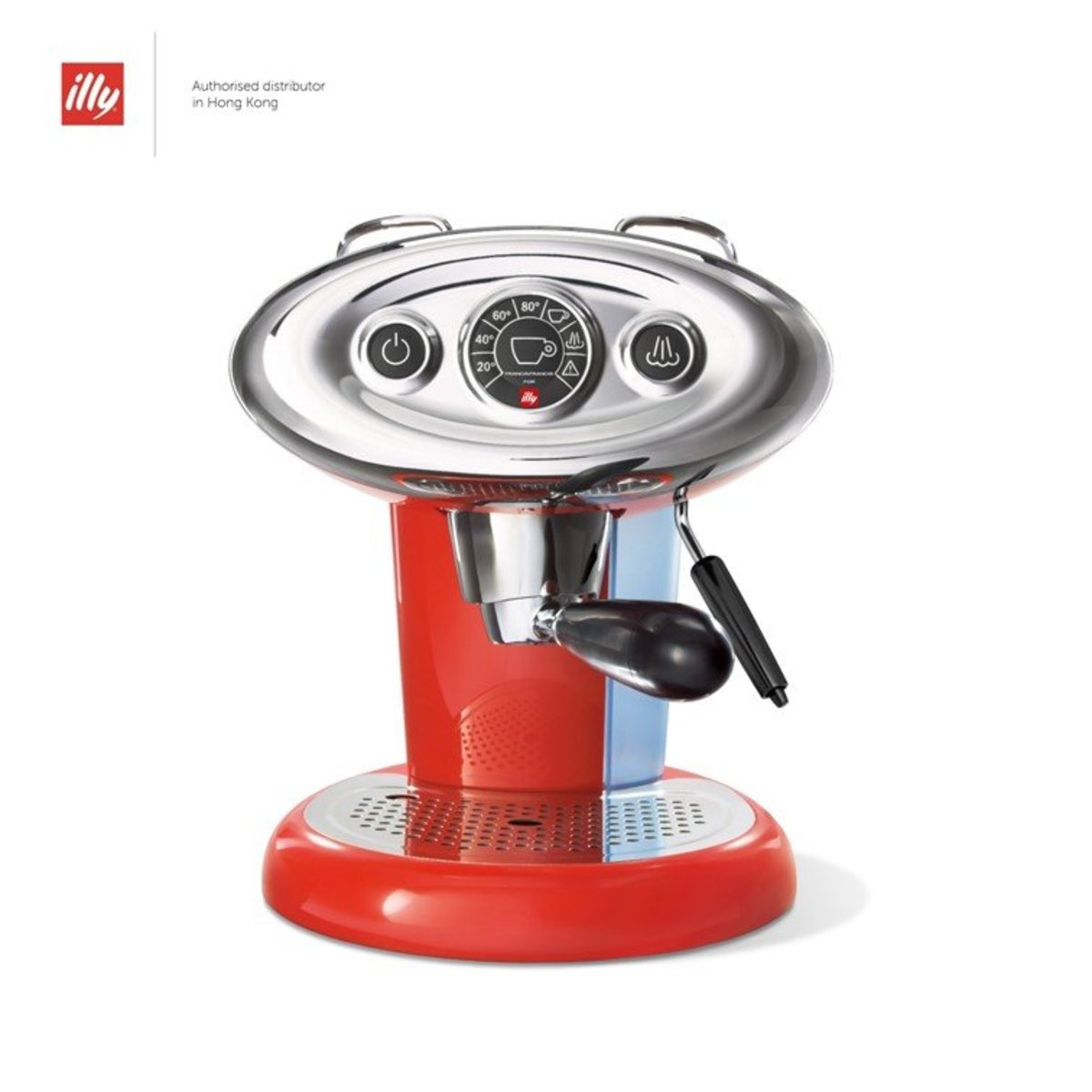 X7.1 IperEspresso Home Espresso Capsule Machine - Red