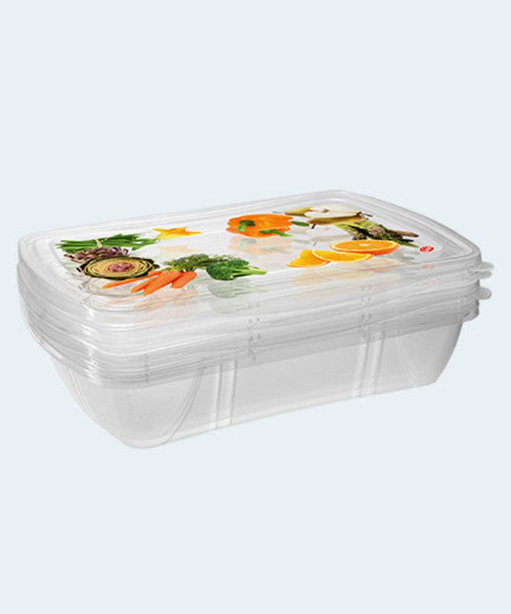 1公升食物盒 (3件裝)