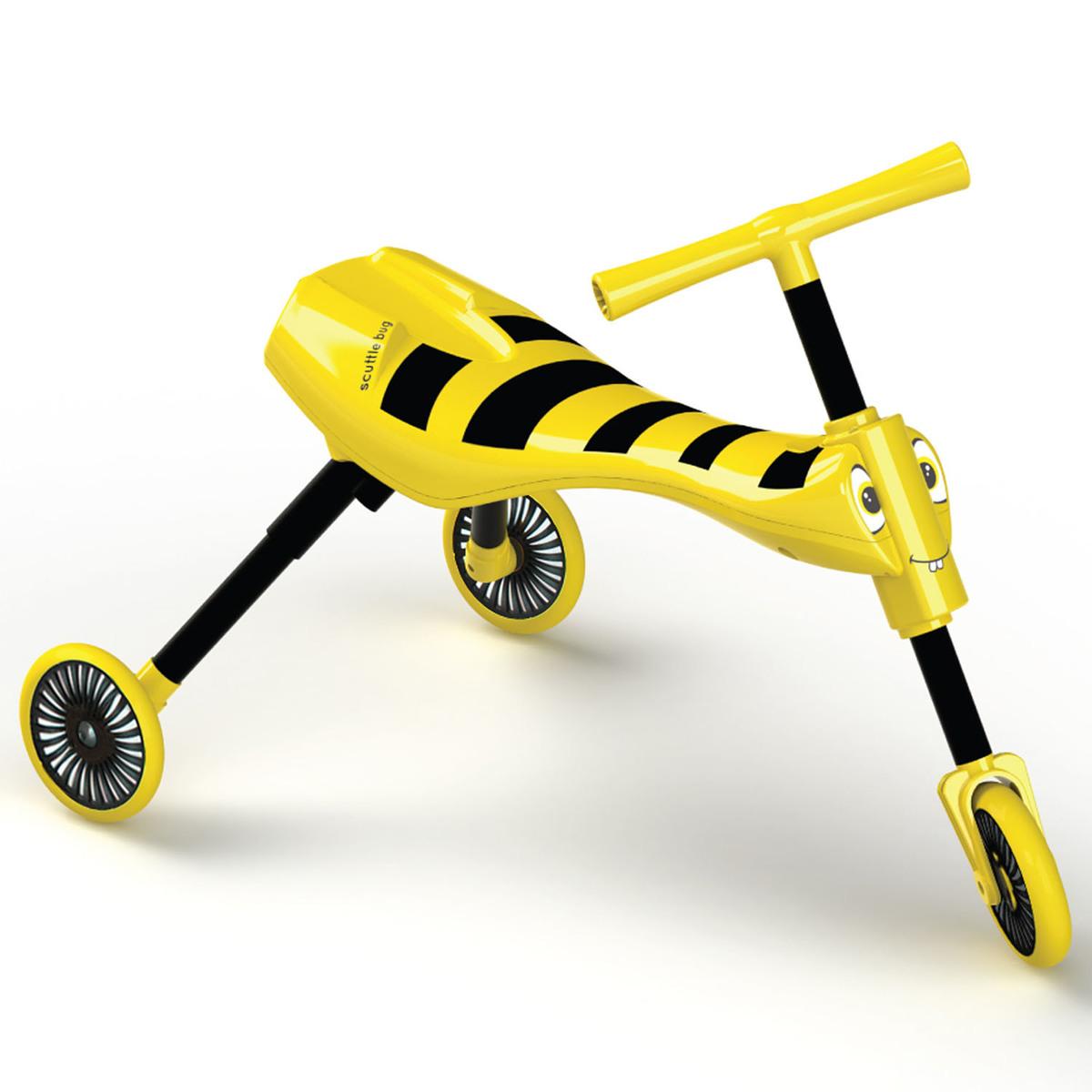 昆蟲系列三輪車(黃色)