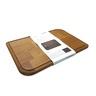 "Thermo Ashwood cutting board Size L- 370 x 280  x 22 mm 14"" ¾ x 11"" ¼  x 1"" Inch"