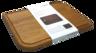 """碳化木砧板 (中碼) - - 320 x 240 x 22毫米 12"""" ¾ x 9"""" ½ x 1"""