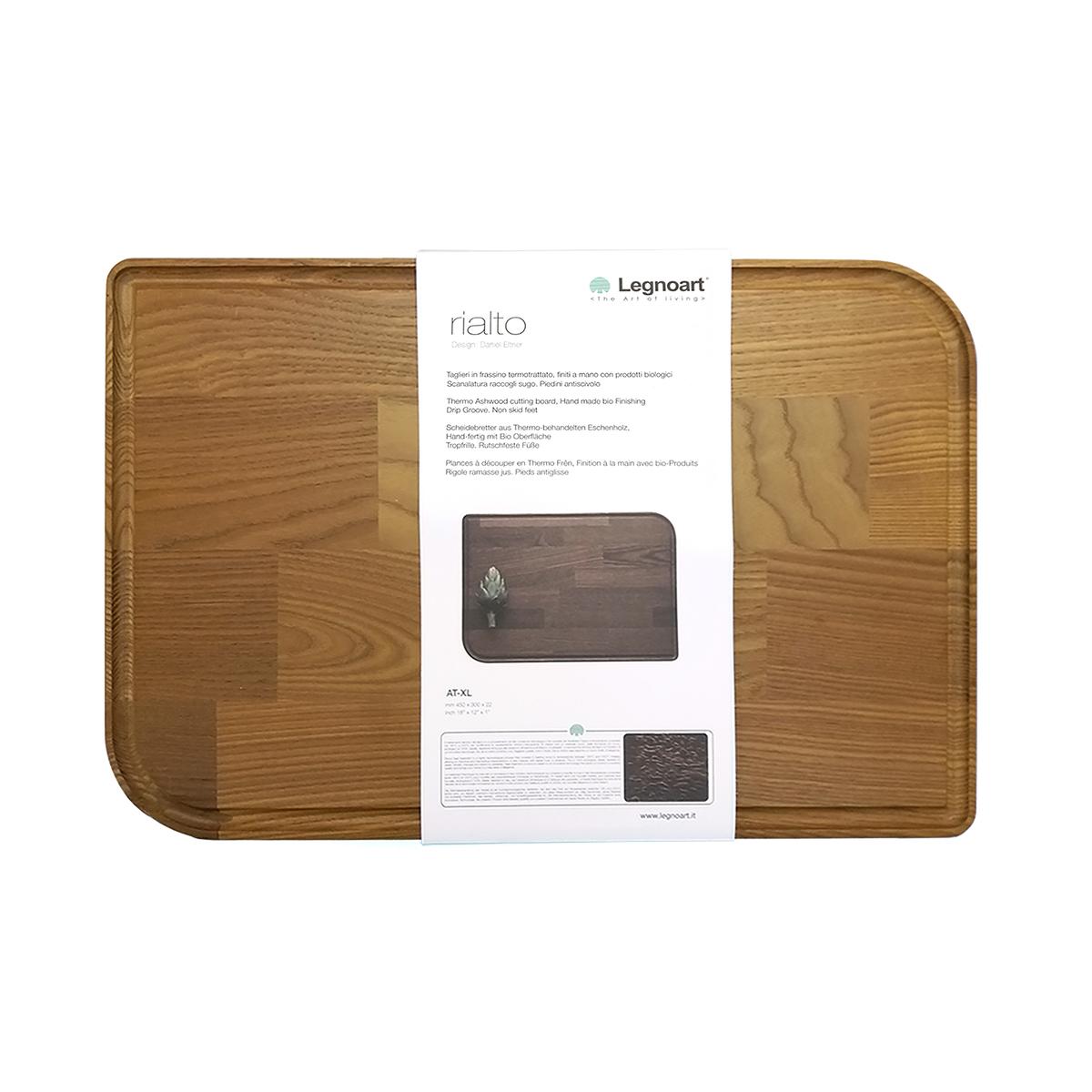"""碳化木砧板 (加大碼) - - 450 x 300 x 22 毫米 18"""" x 12"""" x 1""""吋"""