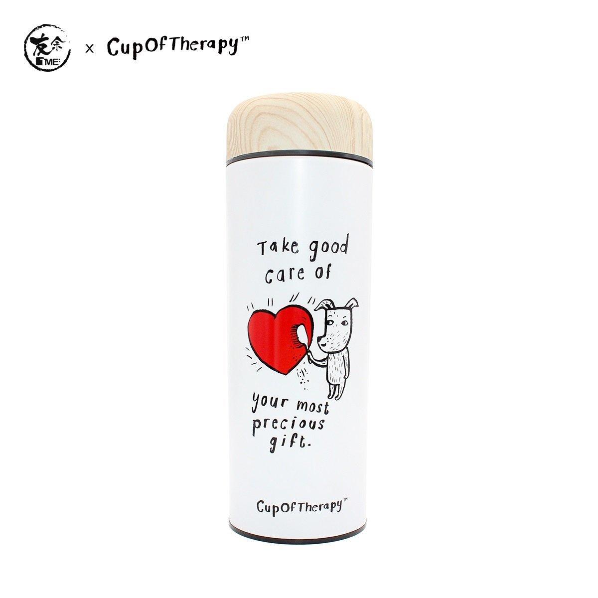 友余 x Cup Of Therapy 紫砂養生瓶300毫升 - 寶貴