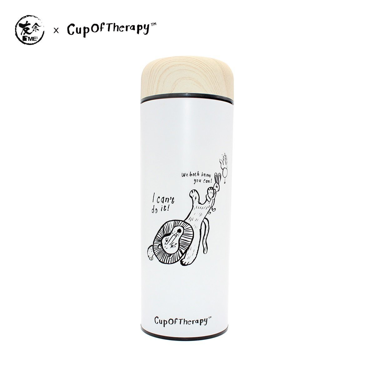 TME x COT Purple Clay Bottle 300ml - Can Do