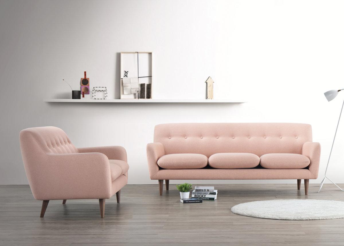 "69"" 2-Seat Fabric Sofa"