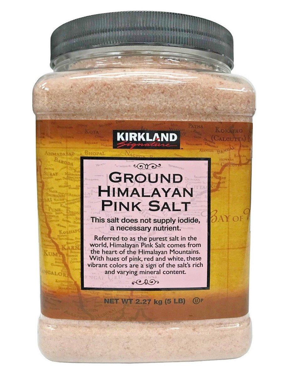 喜馬拉雅山 天然 粉鹽  紅鹽 5磅裝