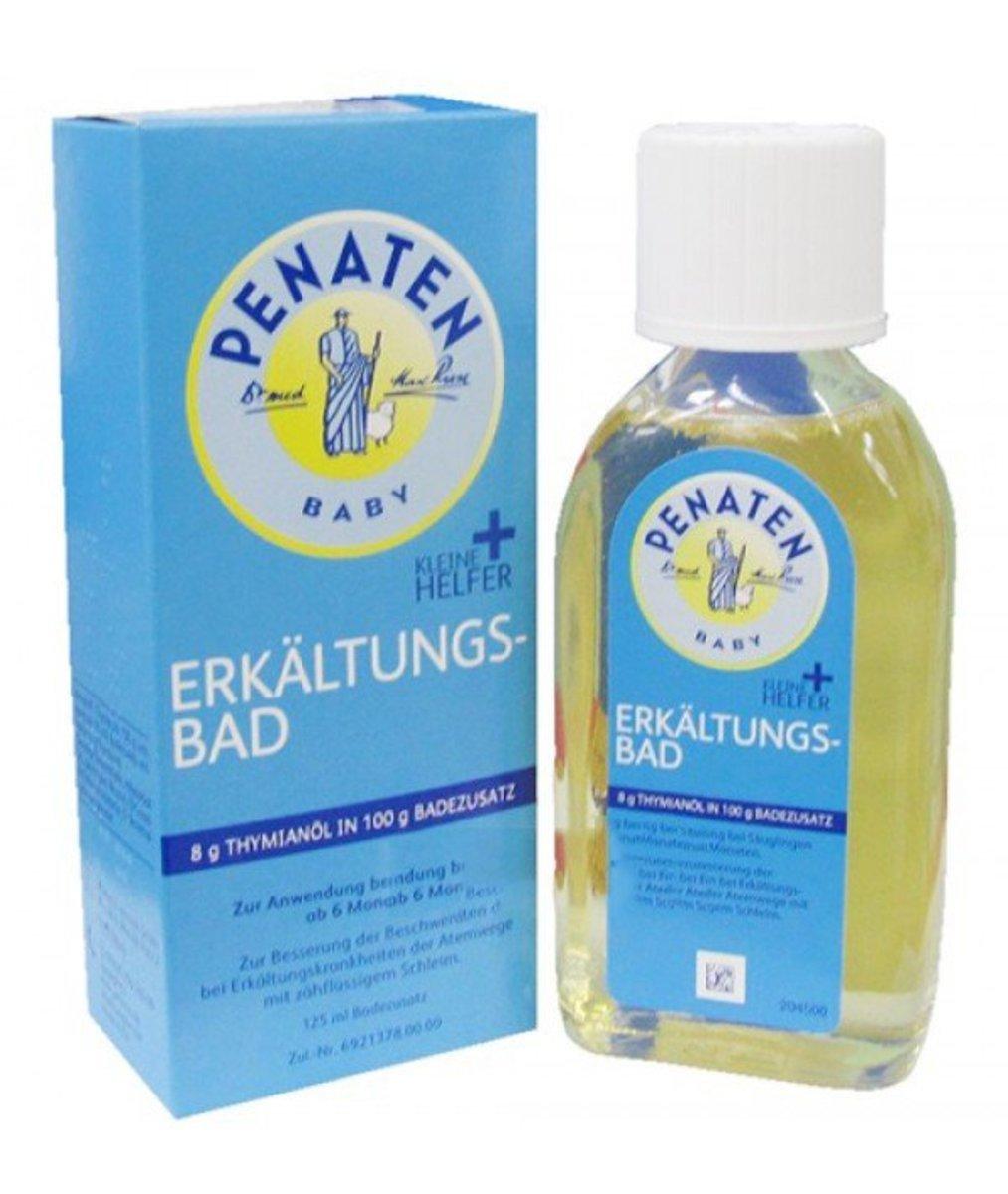 德國牧羊人嬰兒感冒沐浴油 125ml