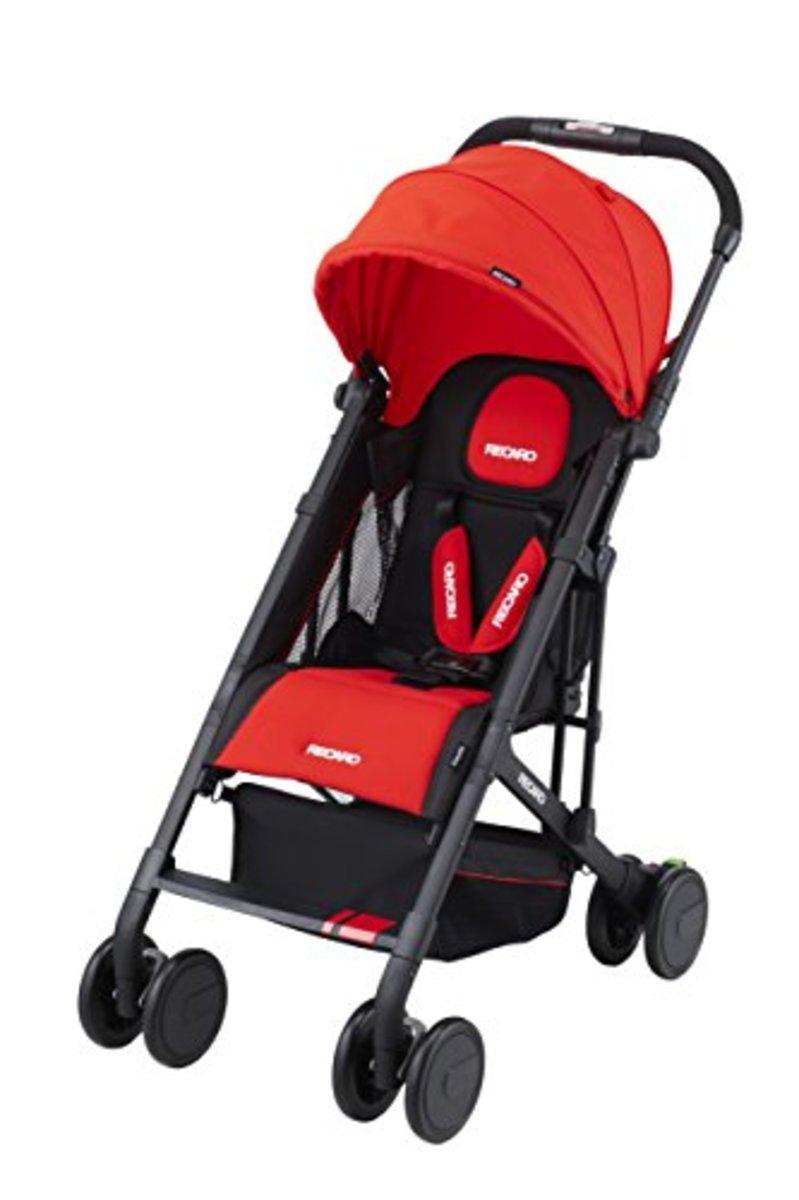 Japanese Recaro Easylife Stroller, Red