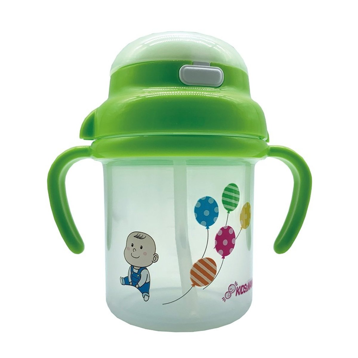 Baby Straw Cup 270ml Green