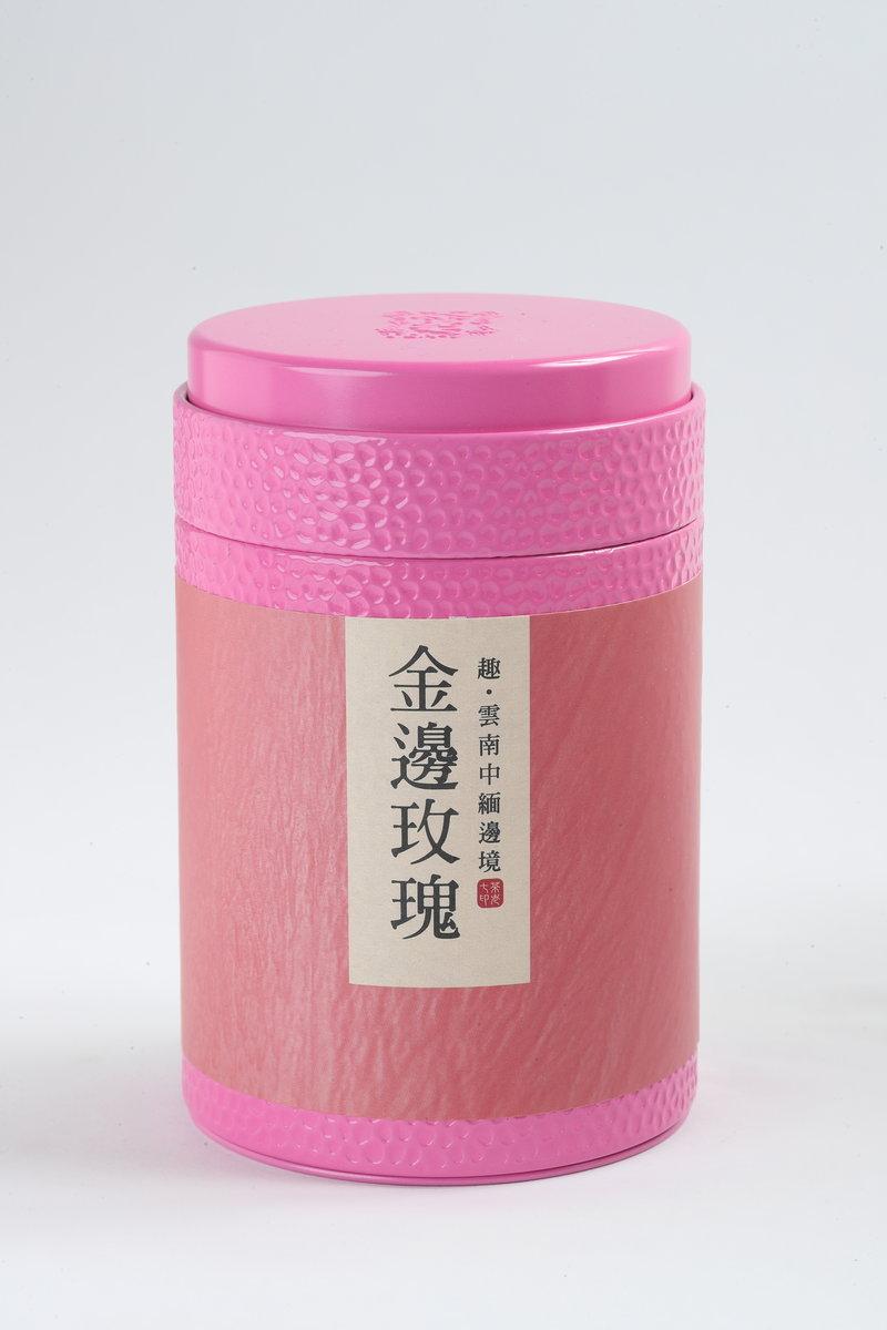 Phnom Penh Rose Tea Set (80g Tea Buds x 1 cans)