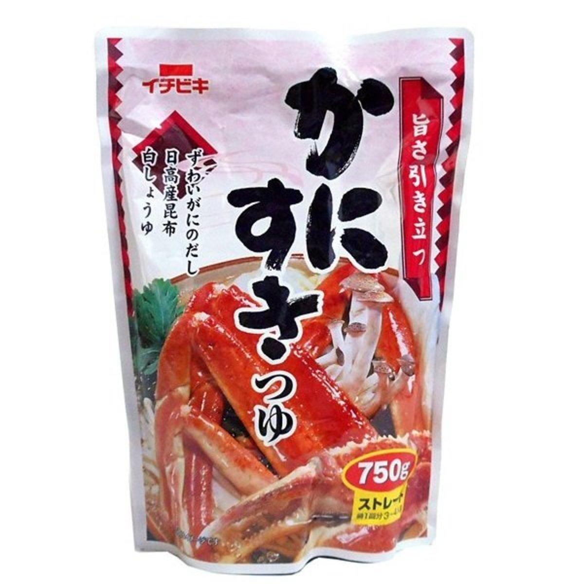 Japanese Crab Soup Base for Hot Pot  750g (4901011576460)